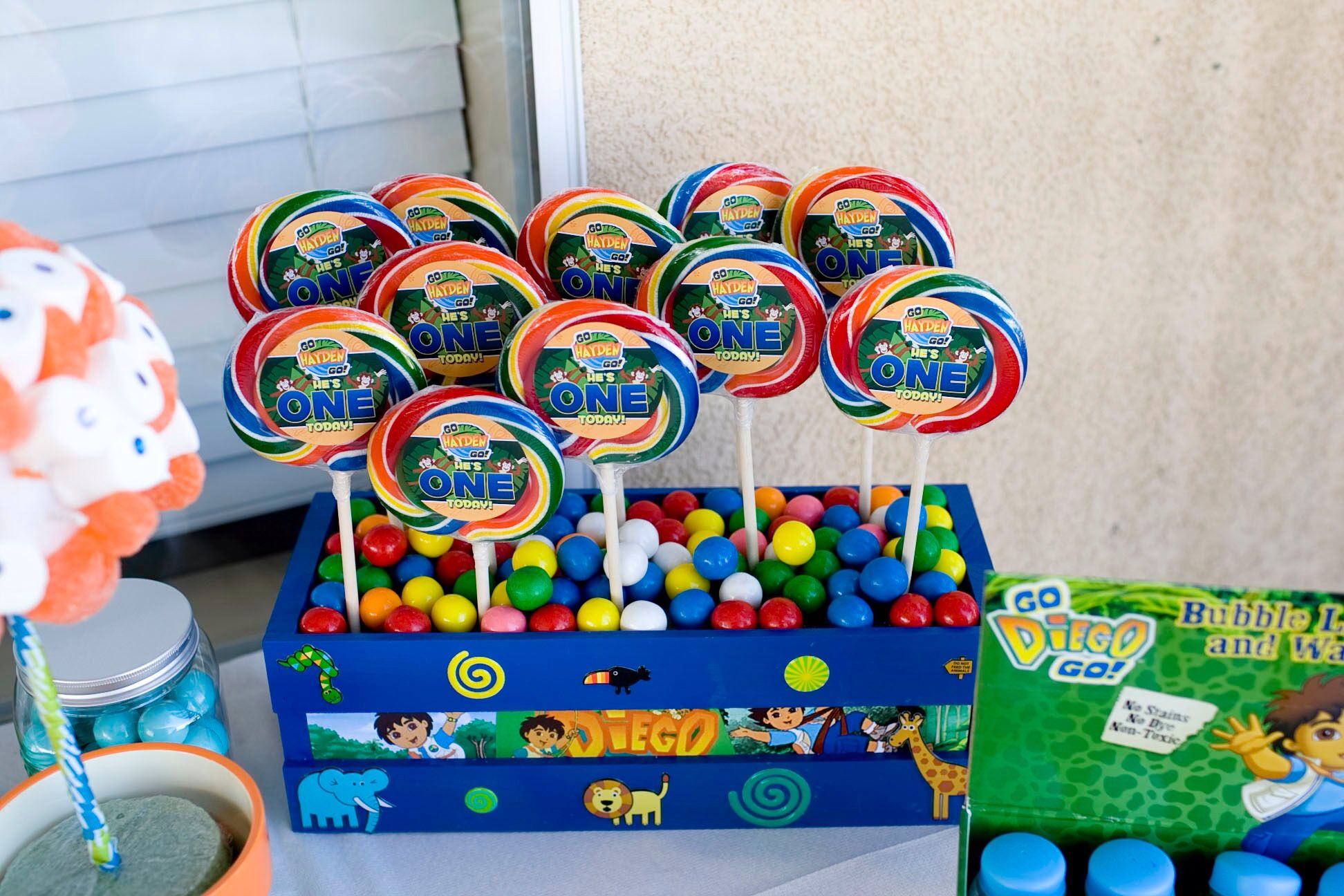 Go Diego Go Birthday Party Favors