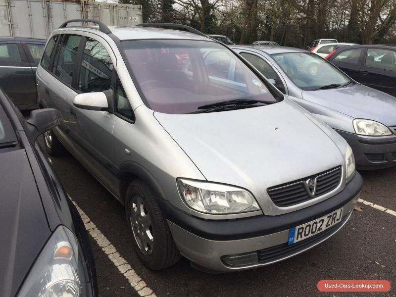 2002 Opel Zafira 1 8 Elegance Auto Spares Or Repair 166k