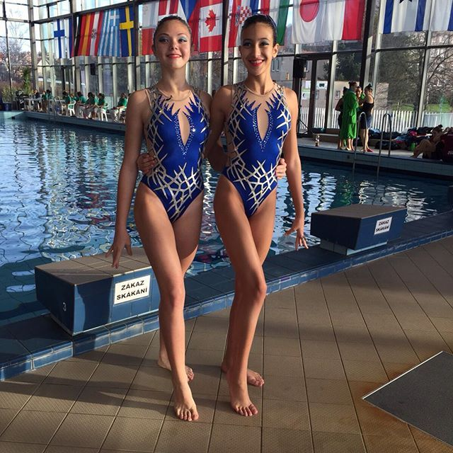 Synchro Swimsuits By Natali Sports Pinterest Synchronized