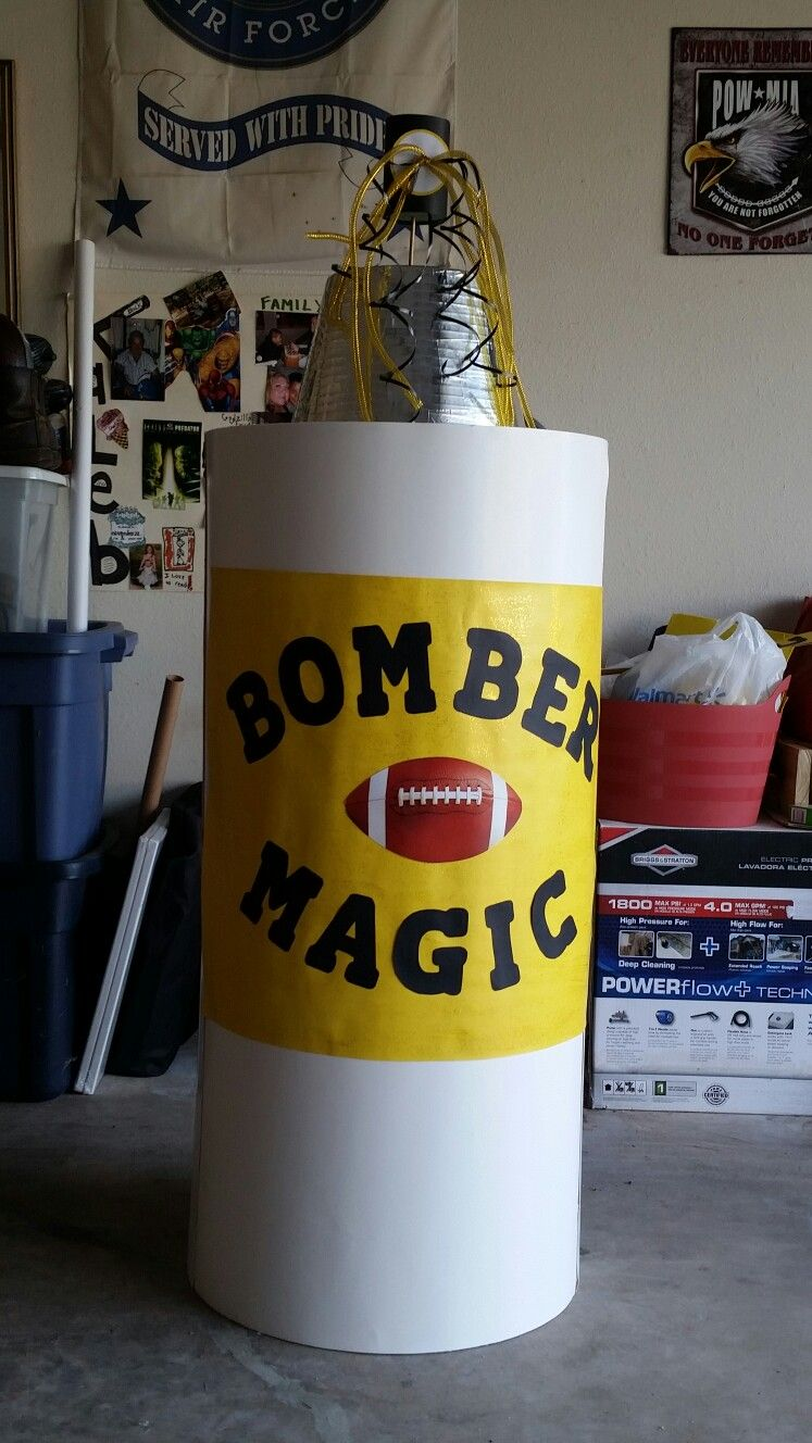 Larger than Life Spray Can