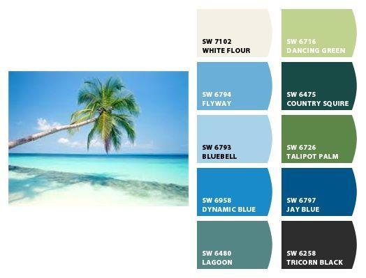 Key West Color Scheme | A Splash Of Color | Pinterest | Key West