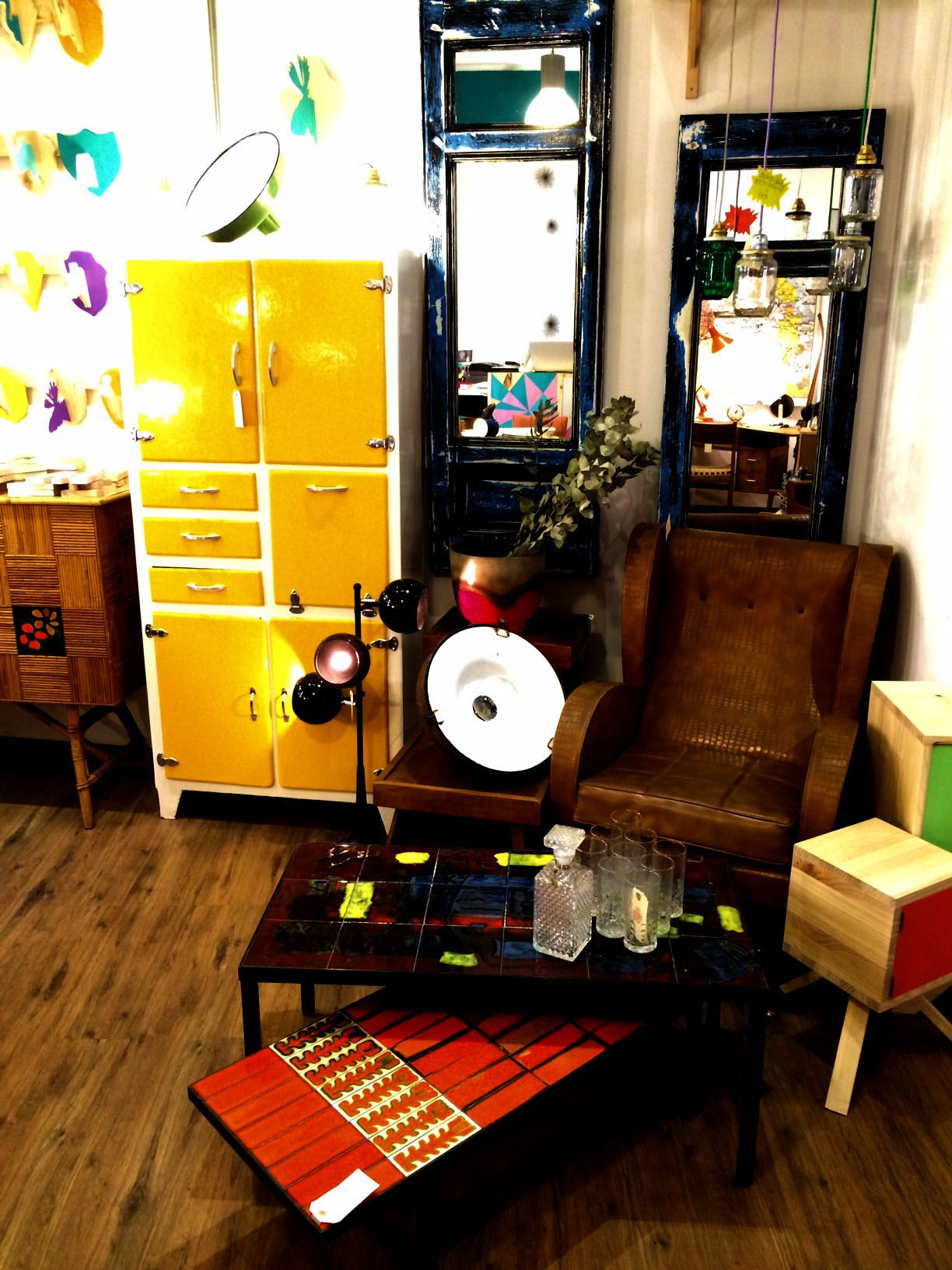 Alacenas lakari kala alacenas alacena retro vintage - Venta de muebles vintage ...