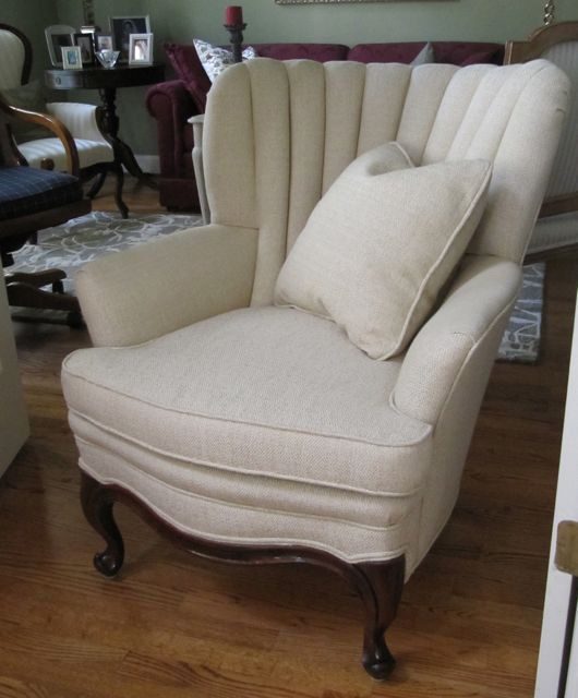 Ee Hamm Vintage Channel Back Chair Totally By Wydevendesigns 550 00