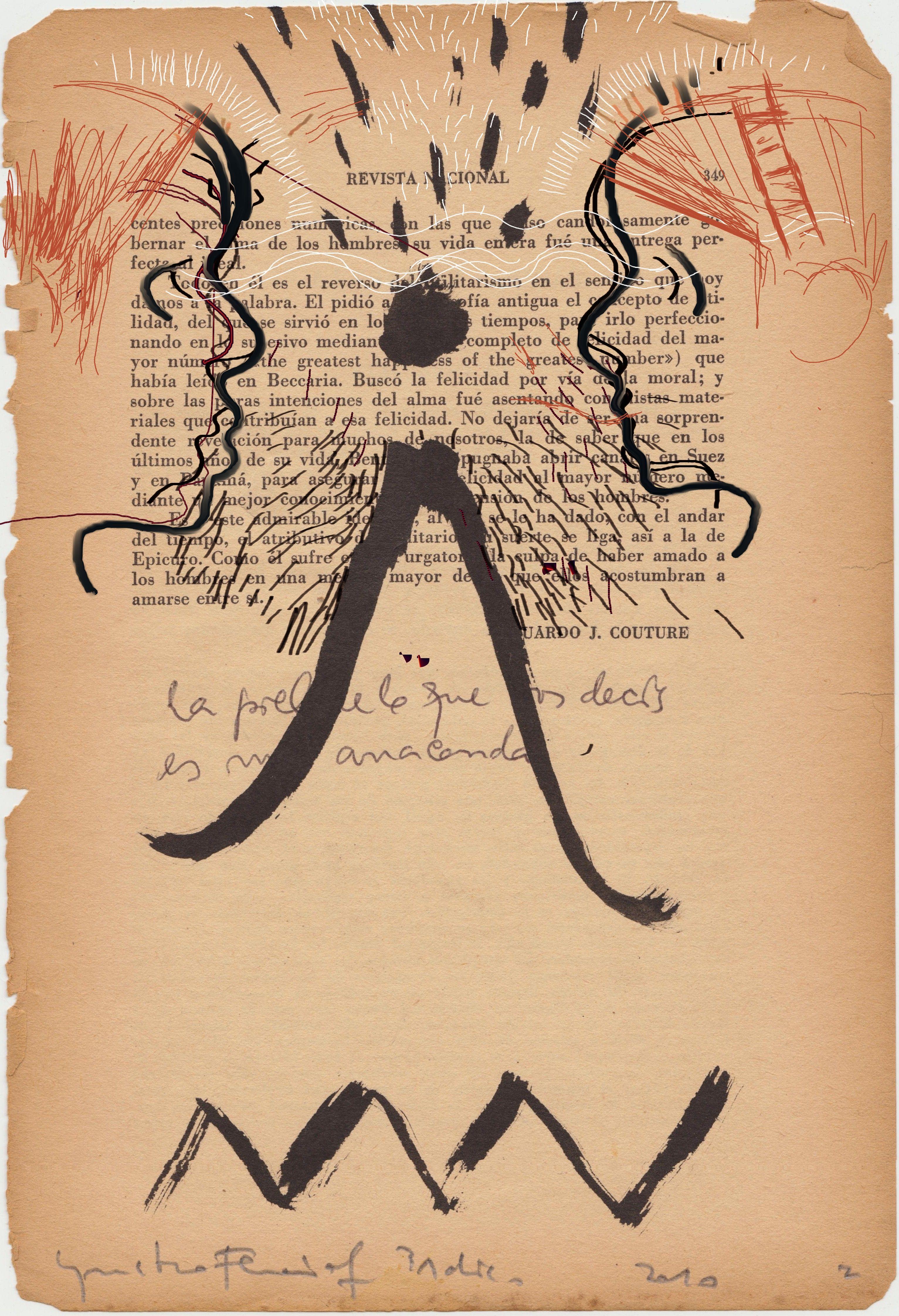"""""""cuaderno de fin de año"""" 31/diciembre/2010 tinta china/gustavo fernÁndez"""