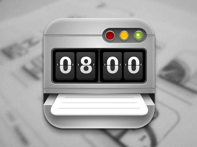 Time Sheet Icon