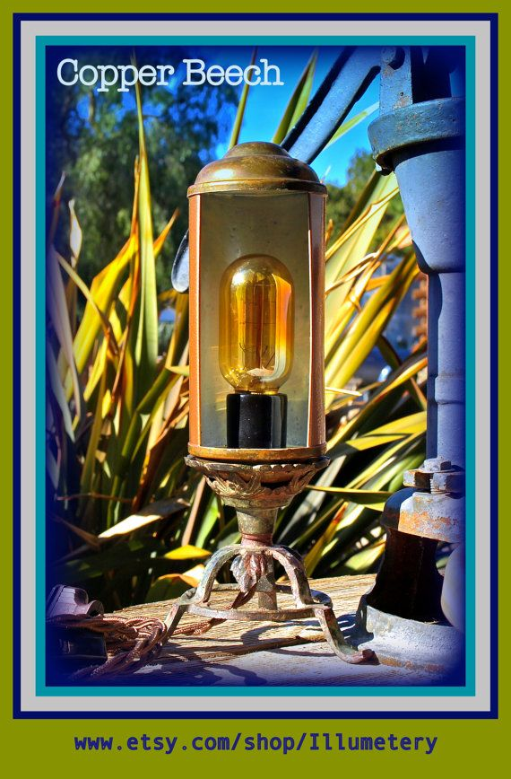 Hey, I found this really awesome Etsy listing at https://www.etsy.com/listing/179739779/copper-table-lamp-assemblage-lighting