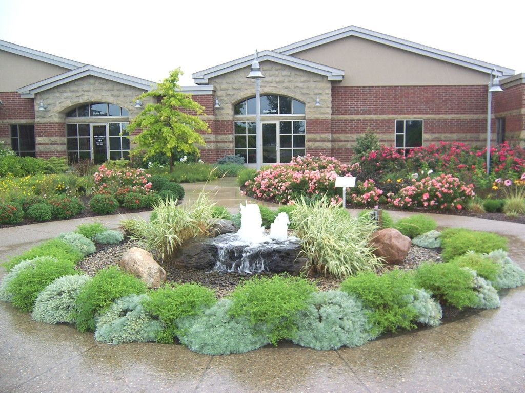 stylist and luxury front yard landscaping pictures with rocks. circle drive landscape  Half Circle Driveway Landscaping Ideas Circular Landscape redo Pinterest driveway