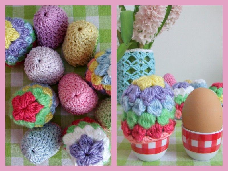 Haken En Meer Gehaakte Eierwarmers Crochet Bits And Pieces