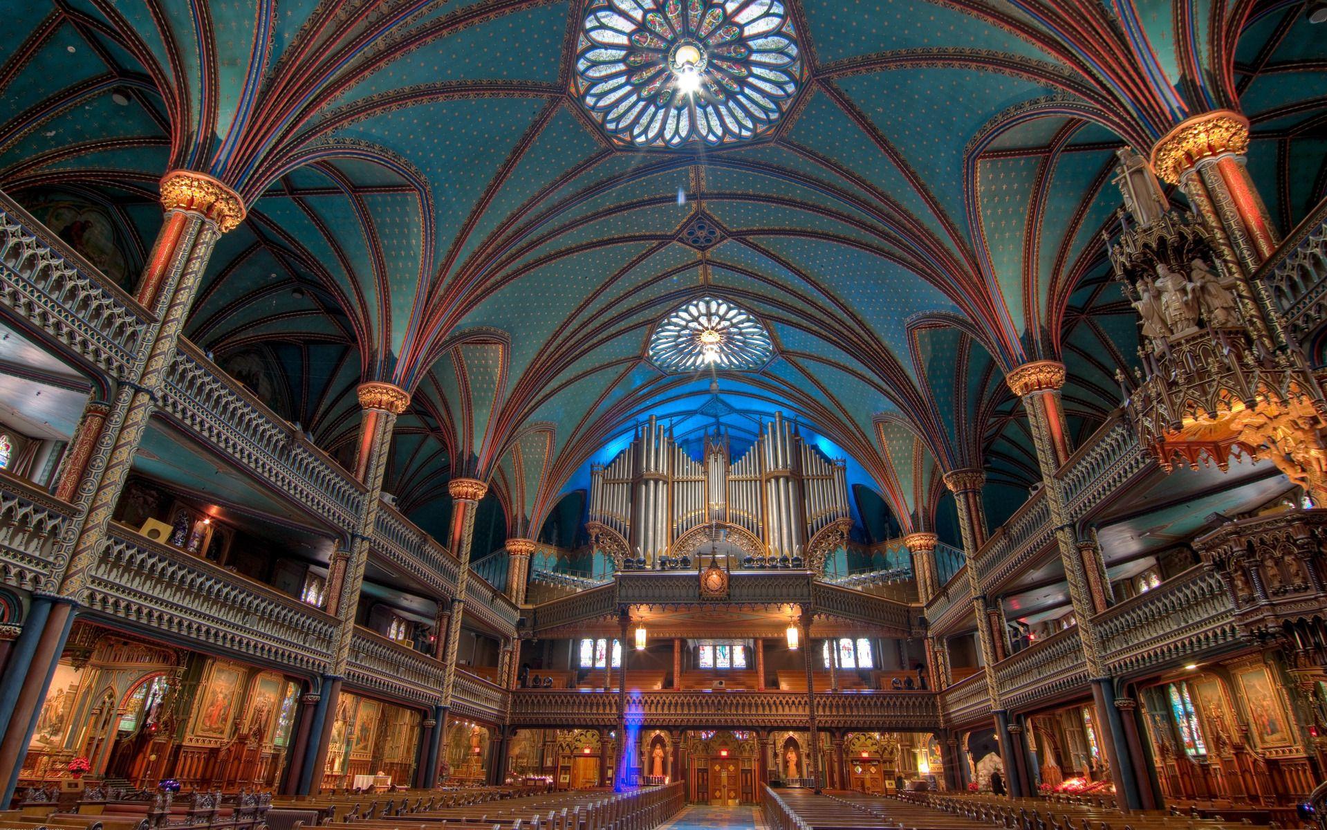 Notre Dame Basilica de Montréal, Québec, Canada