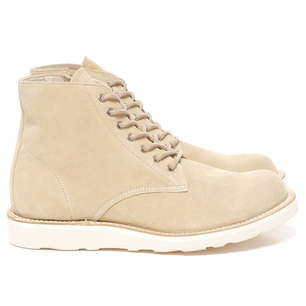588f02e3762 Sophnet 7 Hole Zip Up Work Boots Beige   How about new shoes...