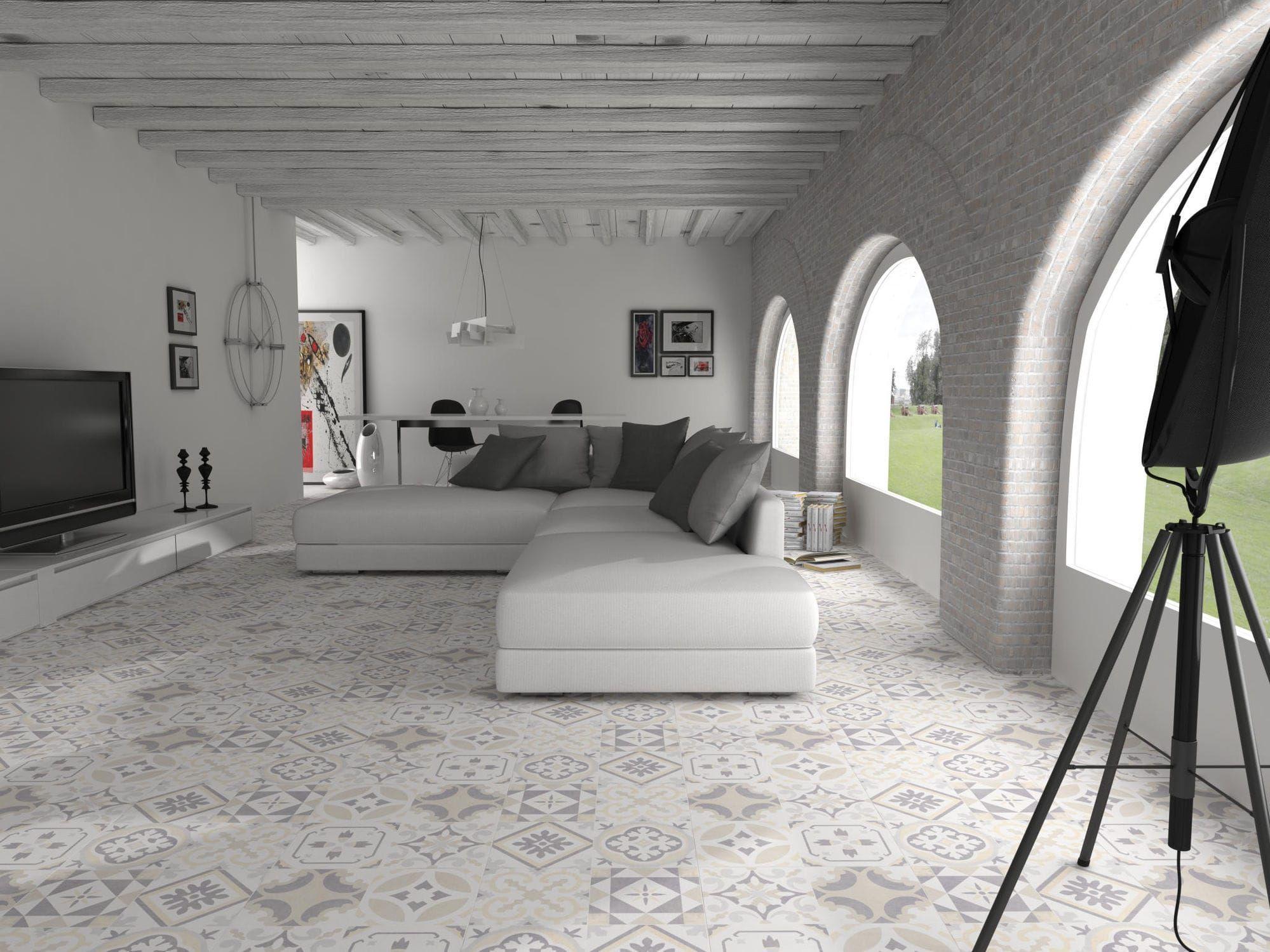 Piastrella da cucina / da pavimento / in ceramica / lucidata ...