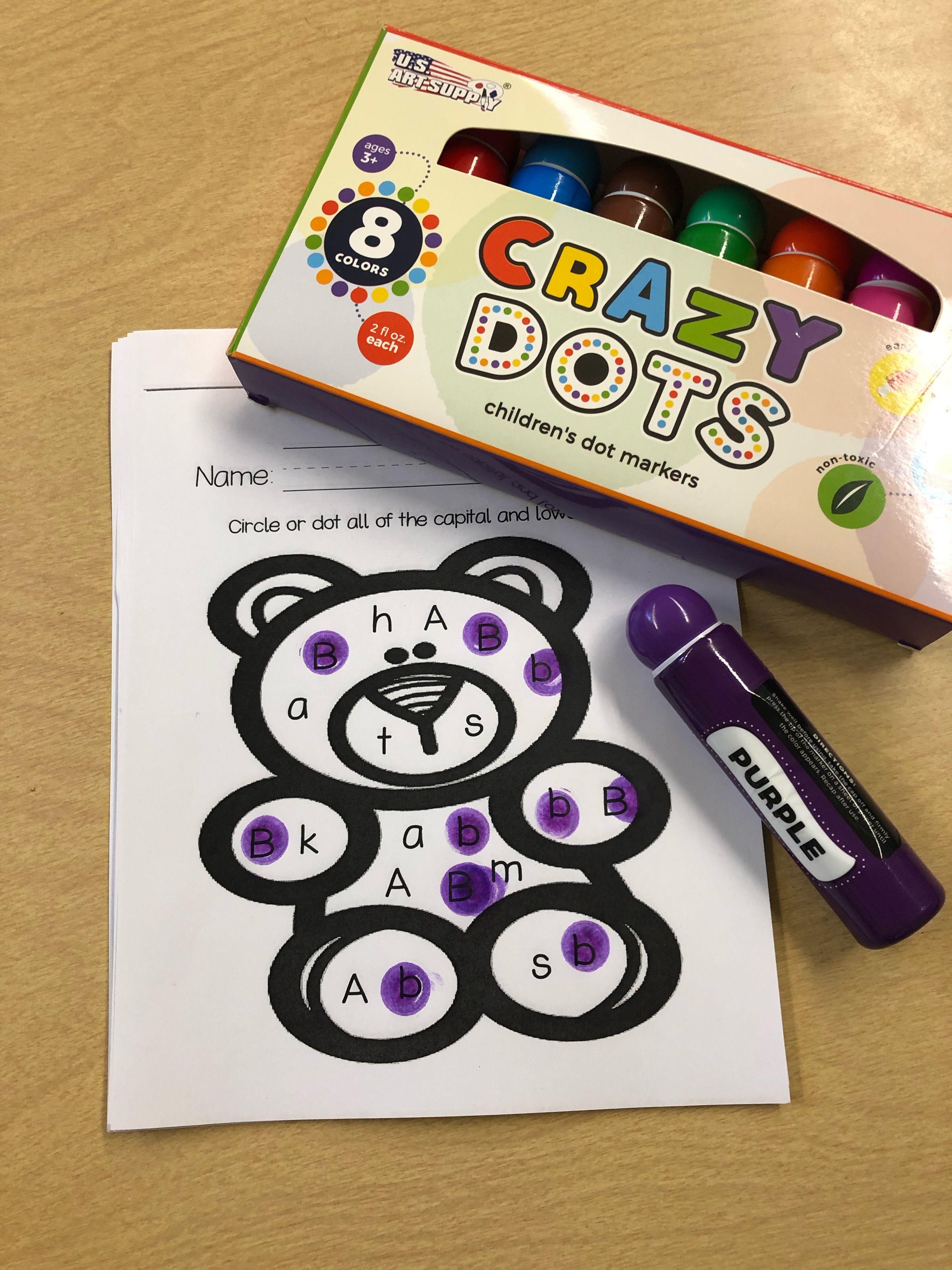 Dot The Letter B Worksheet Great For Kindergarten Or