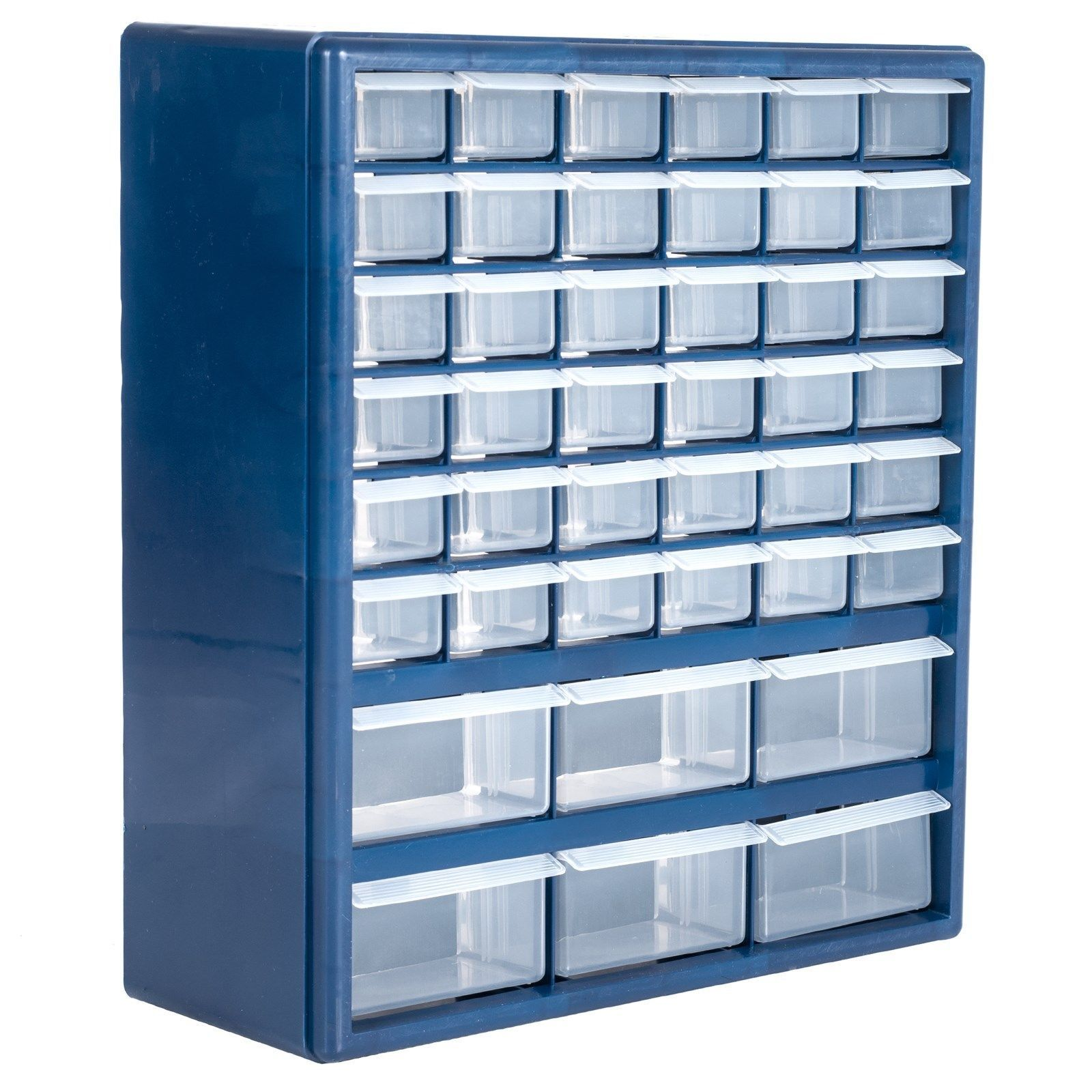 42 Drawer Hardware Storage Box Container Crafts Beads Nuts Bolts 17