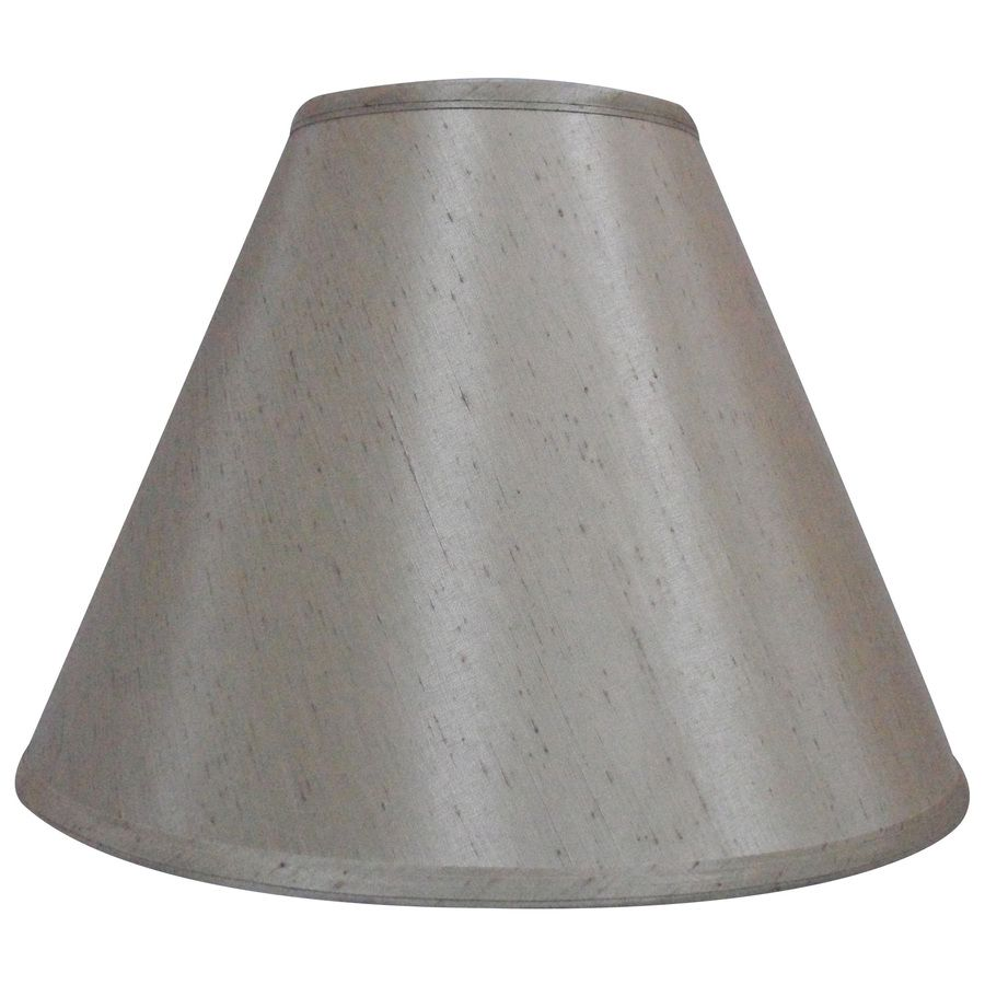 Allen Roth 12 5 In X 17 In Silken Toast Fabric Bell Lamp Shade Lowes Com Lamp Shade Lamp Transitional Style Decor