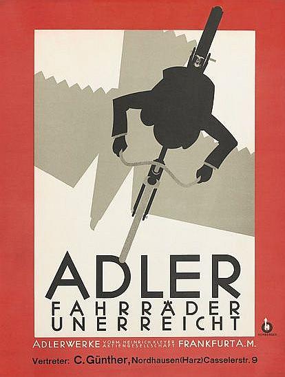 By Andreas K. Hemberger, 1927, Adler. (G)