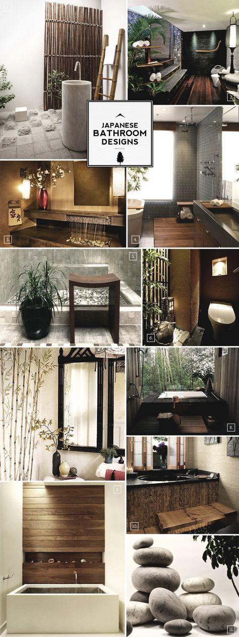 Zen Style: Japanese Bathroom Design Ideas   Bathrooms