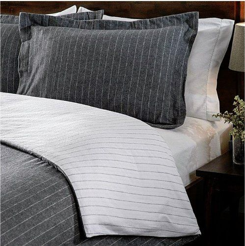 My Inspiration For A Bed Made Of Mens Suiting Duvet And Shams In
