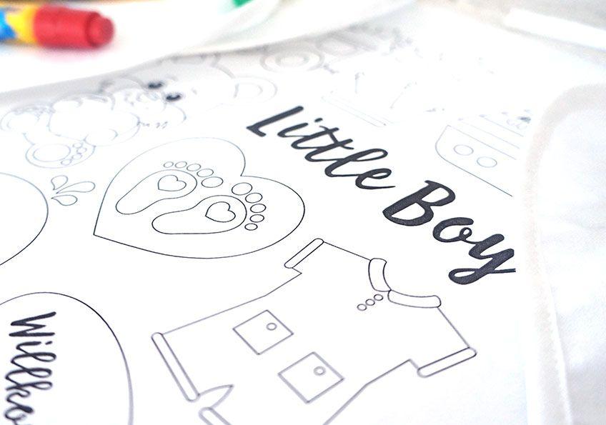 Süße Babyparty Malvorlagen Gratis Download Baby Body