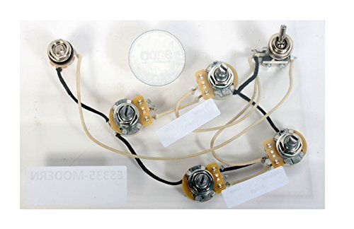 920D ES-335 Modern Style Wiring Harness for Gibson CTS Switchcraft