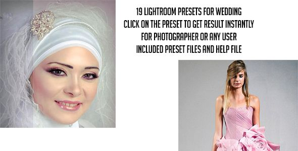 19 Pro Lightroom Presets for Wedding — LRTemplate #wedding #presets • Available here → https://graphicriver.net/item/19-pro-lightroom-presets-for-wedding/13476960?ref=pxcr
