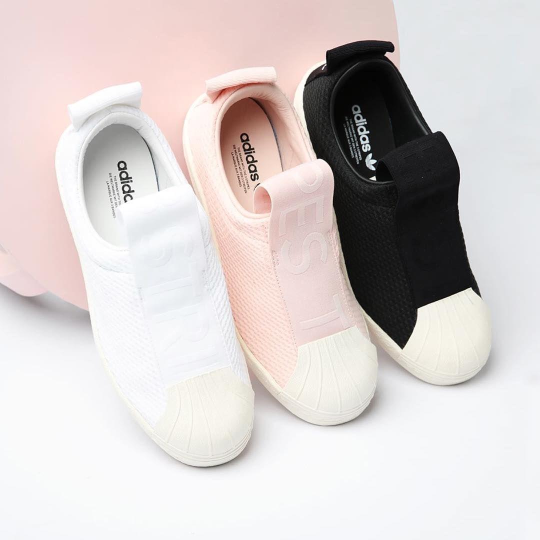 Adidas Slip On Iconic White UK 3.5