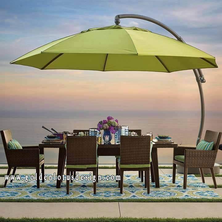 Lighted Umbrella For Patio Beauteous 11 Golden Lotus Design's Photos  Golden Lotus Design  Patios Inspiration