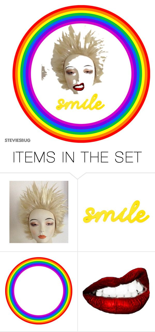 """""""Smile"""" by steviesbug ❤ liked on Polyvore featuring art"""