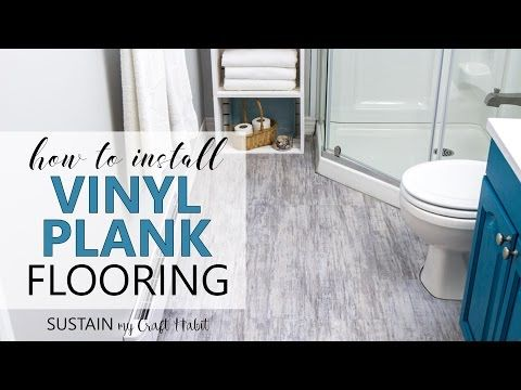 How To Install Vinyl Plank Flooring YouTube Inspiring Ideas - Vinyl flooring youtube