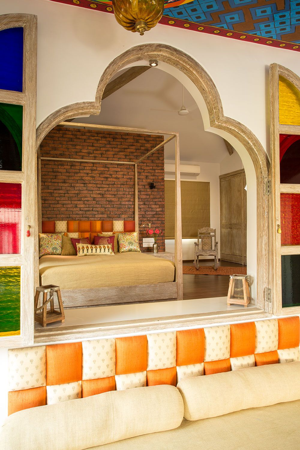 Interior Design Bedroom Traditional. Indian Heritage Interiors Meets New Age  Design   The Orange Lane