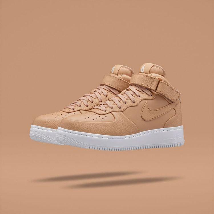 Nike Air Force 1 - Vachetta Tan - Kicks Are Smooth - Sugar