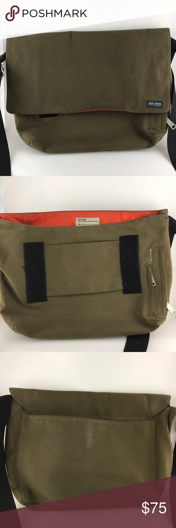 Jack Spade Greene St Messenger Shoulder Bag Bag is in good condition. Jack Spade Bags Messenger Bags