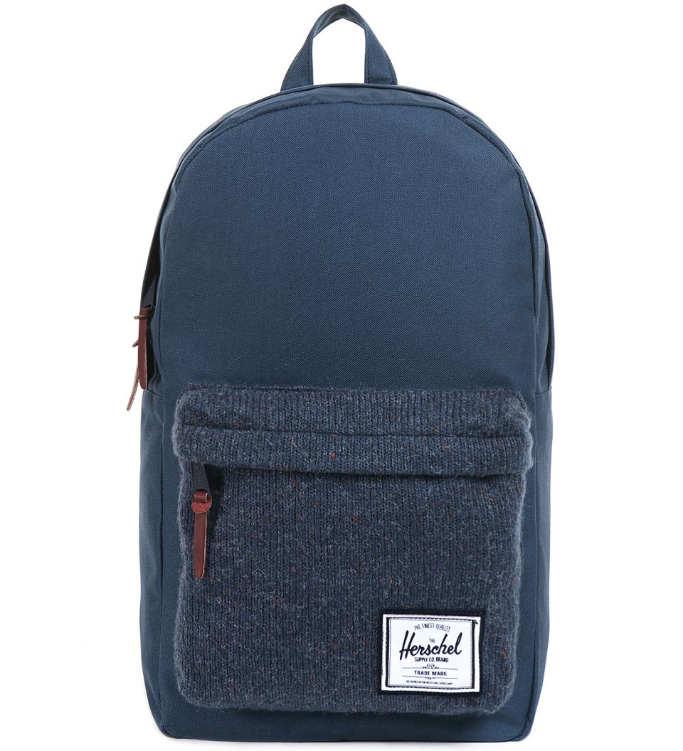 Herschel Supply Co. Navy Woodside Knit Bag