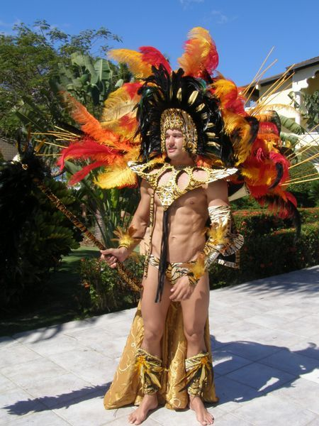 Men Universe Model 2011  Venezuela in his national costume.  59933af82ae4