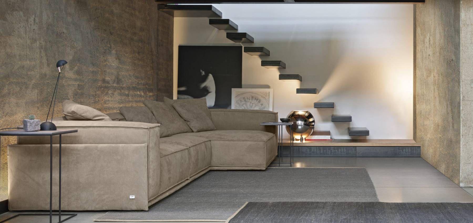 SARTORIA Collezione divani in tessuto Doimo Salotti
