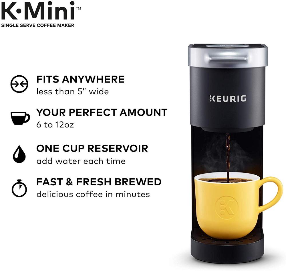 Amazon.com: Keurig K-Mini Basic Coffee Maker, Single Serve ...