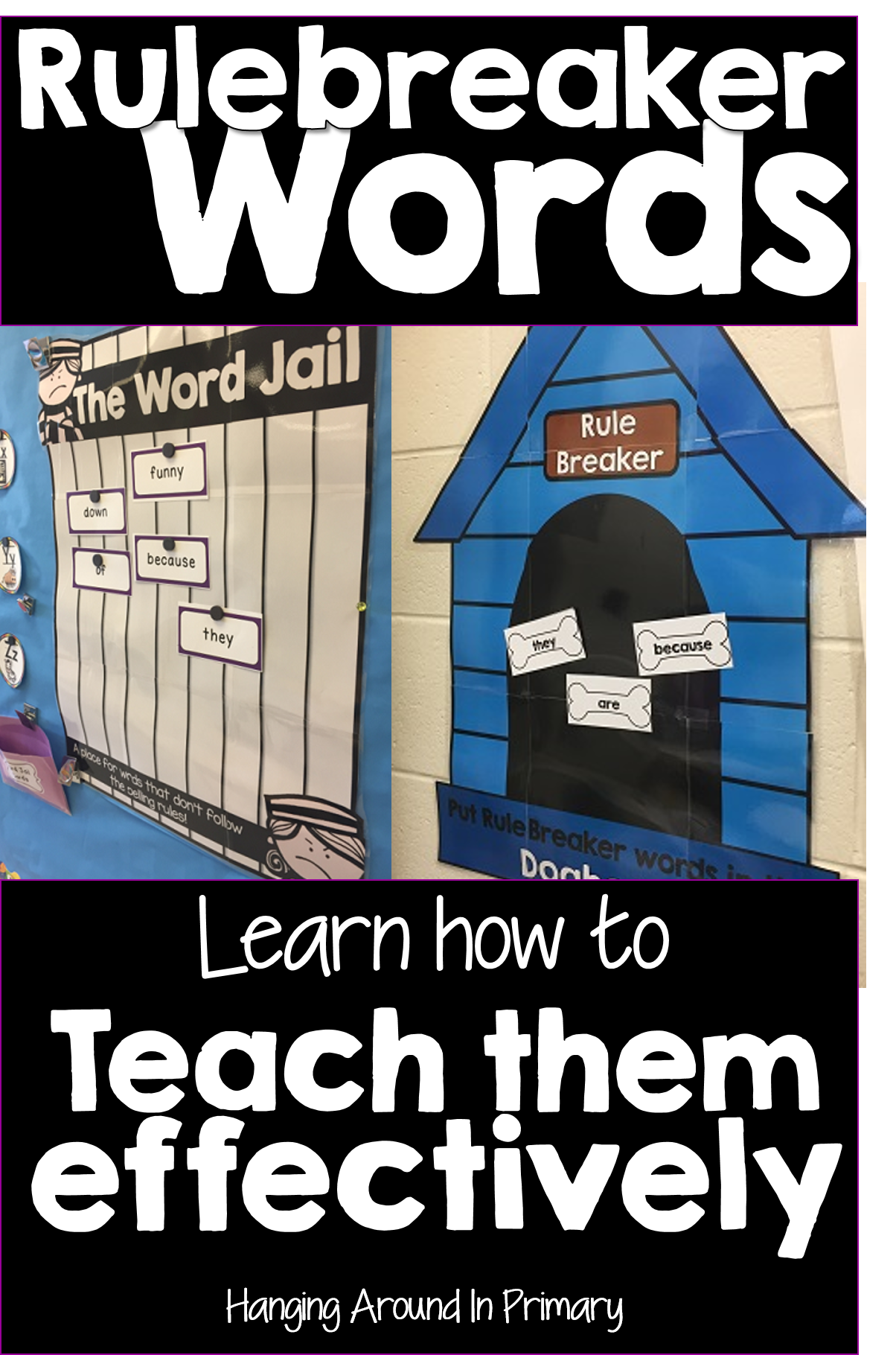 A Surefire way to Teach Students to Read and Spell Tricky