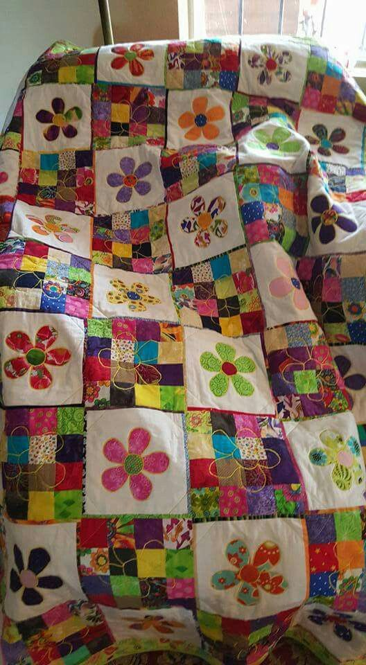Pattern Idea Really Cute From 60 Blocks Needle Thread Simple Pinterest Quilt Patterns