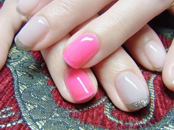Idee per french gel unghie colorate e glam Pagina 7 - Fotogallery Donnaclick