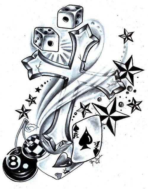 New School Tattoo Flash And Art Tattoo Flash Astrologia