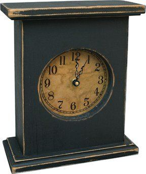 Primitive Country Rustic Wood Mantel Clock You Can Find Out More Details At The Link Of The Image It Primitive Mantels Mantle Clock Mantel Clock