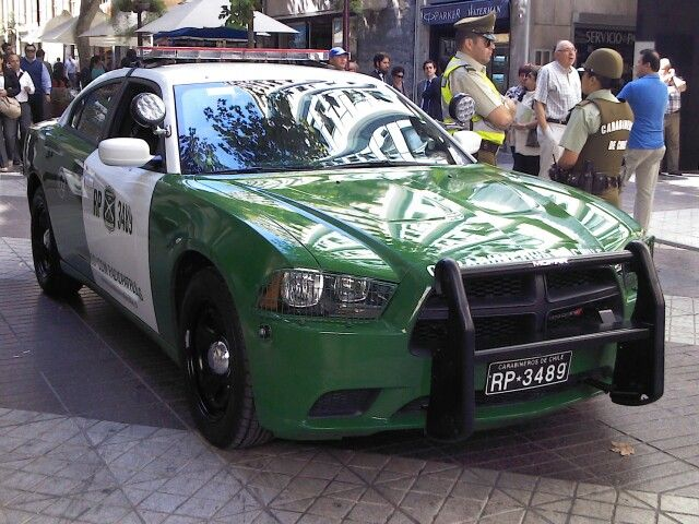 Dodge Charger Police Interceptor Carabineros De Chile Dodge