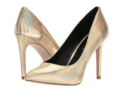 18825feab9a6 Bcbgeneration - Heidi Classic Pumps - Iridescent Gold