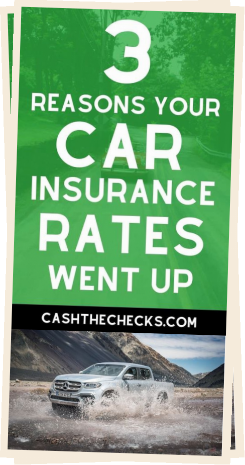 Has Your Car Insurance Gone Up Here Are 3 Reasons Your Car