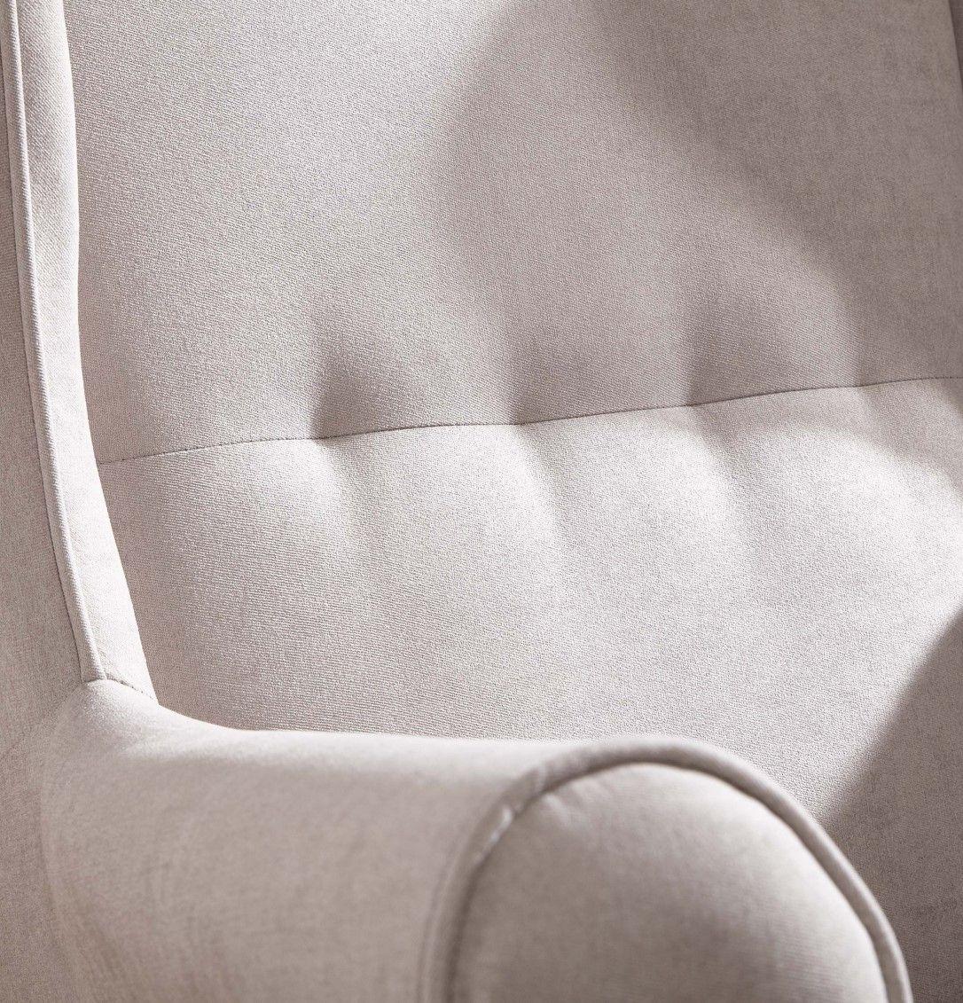 Wohnzimmer Sitzsack Chacos In Weiß Taupe: Sessel 86x83x91 Taupe SCANDI #110