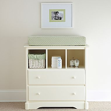 Rockland Hartford Changing Table Antique White