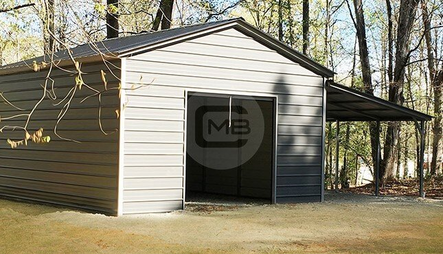 30x20 Lean To Building In 2020 Metal Buildings Shed Plans Building A Shed