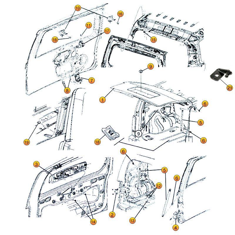 Jeep Liberty Liftgate Parts