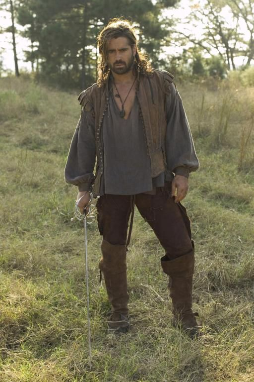 "Colin Farrell in ""The New World"""