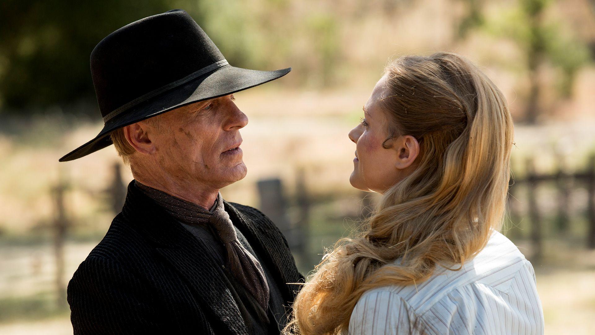 Ed Harris as The Man in Black in Westworld