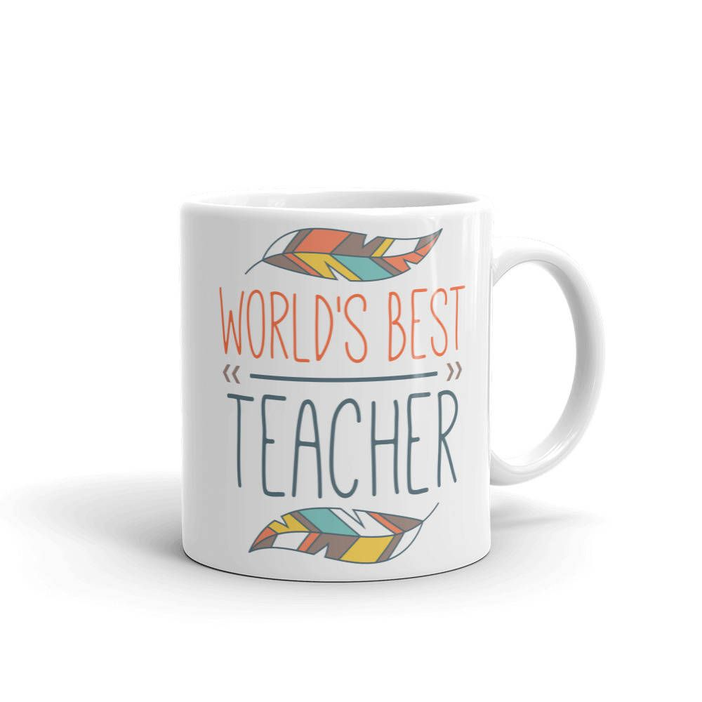 World S Best Teacher Mug Teacher Appreciation Mug Back To School
